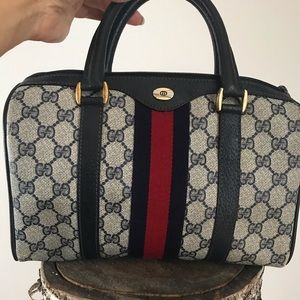 GUCCI Boston DR. Speedy bag, authenticated.